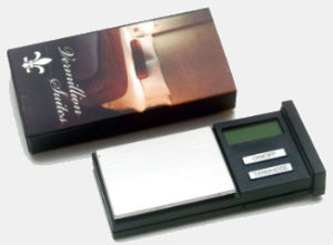 American Weigh Stealth Pocket Matchbox Weed Scale Hotel Edition