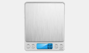 Amir Upgraded Digital Weed Scale 3000 x 0.1g Silver