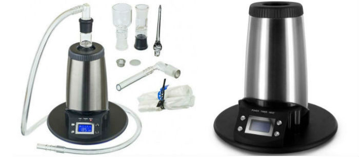 Arizer V-Tower Dry Herb Weed Vaporizer