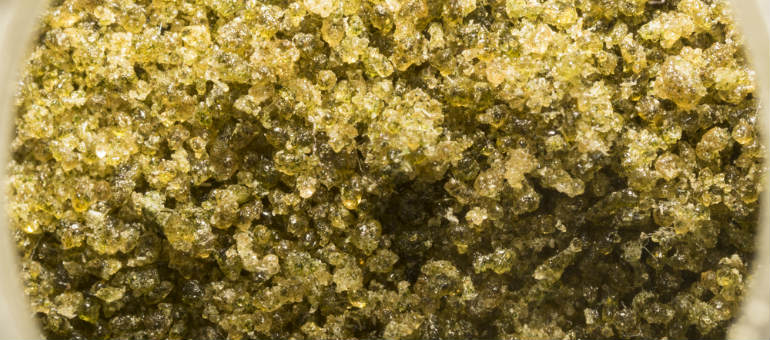 Bubble Hash Close Up