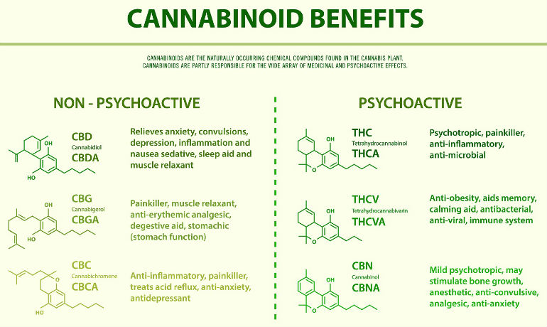 Cannabinoids Medical Benefits