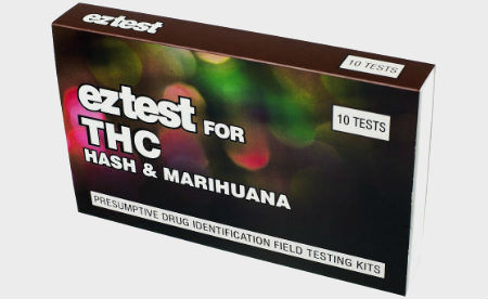 EZ-Test Cannabis (THC) Test Kit 10-Pack