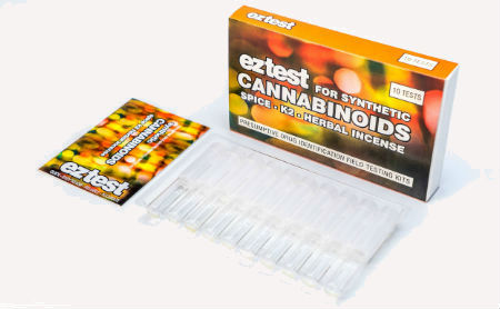 EZ-Test Synthetic Cannabinoids Identification Test Kit 10-Pack