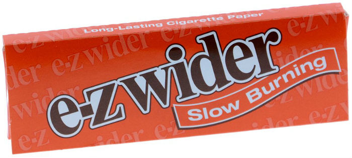 EZ Wider Orange 1 1/4 Rolling Papers