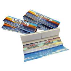 Elements King Size Rice Rolling Papers with Tips