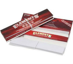 Elements Red King Size Slim with Tips