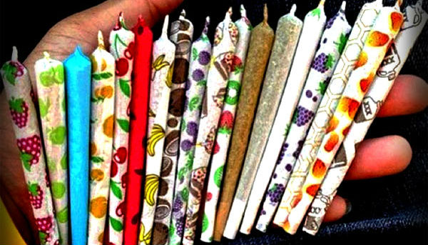 Flavored Colored Joint Papers