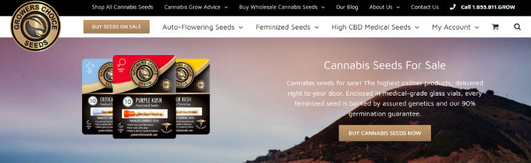 Growers Choice Seeds Website