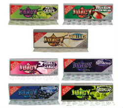 Juicy Jay's 1 1/4 Super Fine Rolling Paper Sampler
