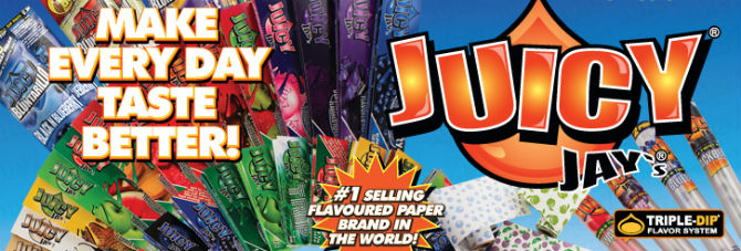 Juicy Jay's Flavored Rolling Products