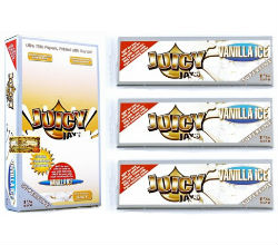 Juicy Jay's Super Fine Vanilla Ice 1 1/4 Rolling Papers