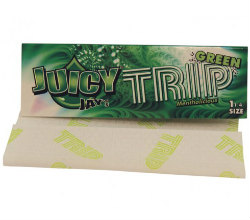 Juicy Jay's Trip Green 1 1/4 Rolling Papers