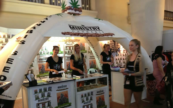 Ministry of Cannabis at Cannafest 2013 Prague