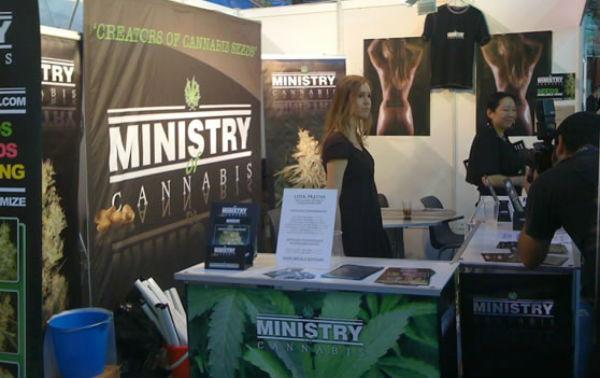 Ministry of Cannabis at Expo Cannabis Madrid 2009