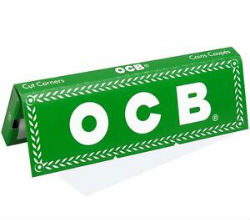 OCB Green Single Wide Rolling Papers
