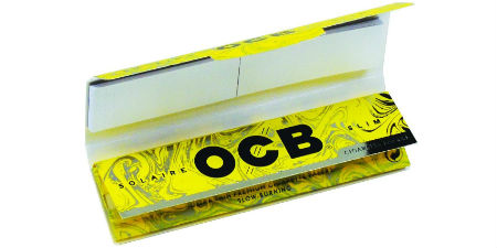 OCB Solaire King Size Slim with Tips