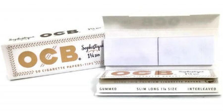 OCB Sophistique 1 1/4 Rolling Papers with Tips