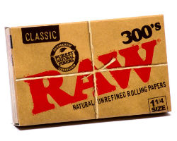 RAW Classic 1 1/4 300's Rolling Papers