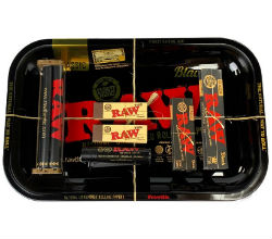 RAW Black Rolling Papers Bundle