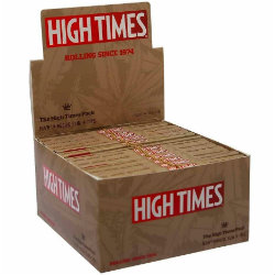 RAW High Times Connoisseur King Size Slim Rolling Papers with Tips