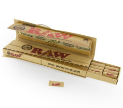 RAW Classic KSS Rolling Papers With Pre Rolled Tips