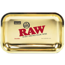 RAW Limited Edition Gold Leaf Rolling Tray
