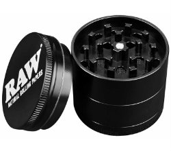 Raw Santa Cruz 4 Piece Grinder