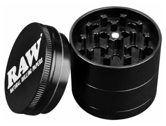 Raw Santa Cruz 4 PC Weed Grinder330