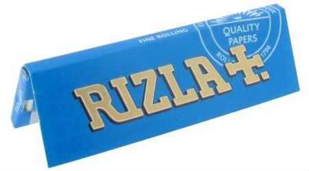 Rizla Blue Single Wide Rolling Papers