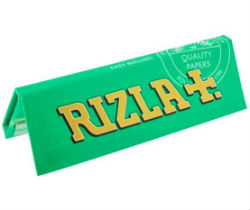 Rizla Green Single Wide Rolling Papers