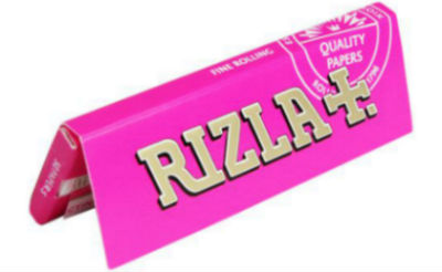 Rizla Pink Single Wide Rolling Papers
