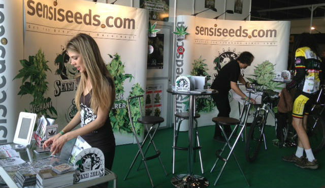 SensiSeeds Growmed Expo 2012