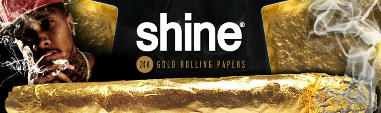 Shine 24 Karat Gold Rolling Papers