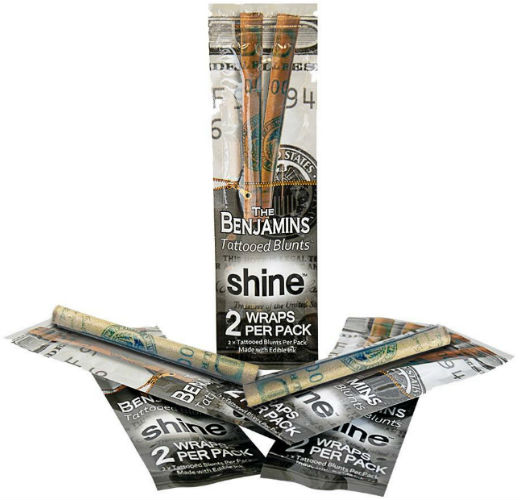 Shine The Benjamins Tattooed Wrap