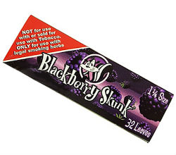 Skunk Blackberry 1 1/4 Flavored Rolling Papers