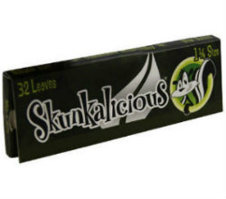 Skunkalicious 1 1/4 Mentholated Rolling Papers