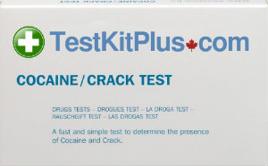 TestKitPlus Cocaine Identification Drug Test Kit