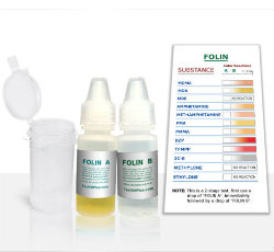 TestKitPlus MDMA-Ecstasy Folin Drug Test Kit