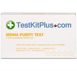 TestKitPlus MDMA-Ecstasy Purity Drug Test Kit