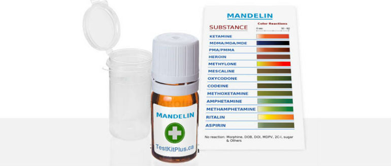 TestKitPlus Ketamine Mandelin Test Kit