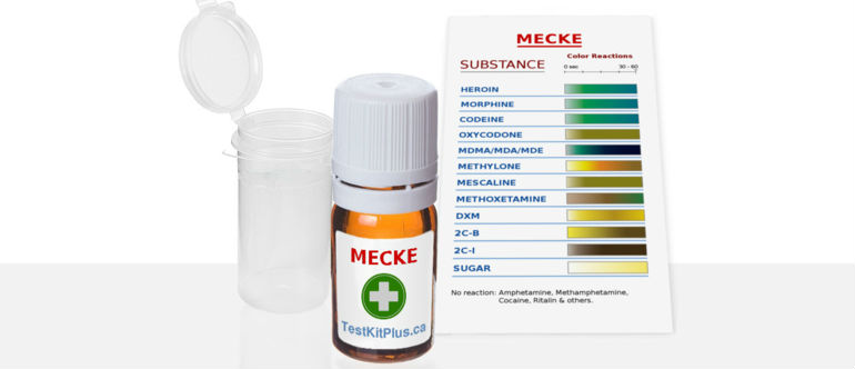 TestKitPlus Opiates Mecke Test Kit
