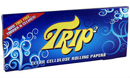 Trip2 King Size Clear Rolling Papers