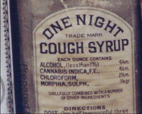 Medical Cannabis Prohibition Cough Syrup