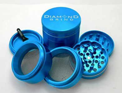 Diamond Grind 5 Piece Pot Grinder