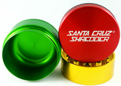 Santa Cruz Shredder Large 3 Piece Grinder Weed